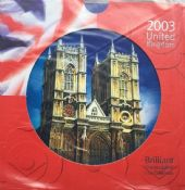 2003 Brilliant Uncirculated Coin Collection